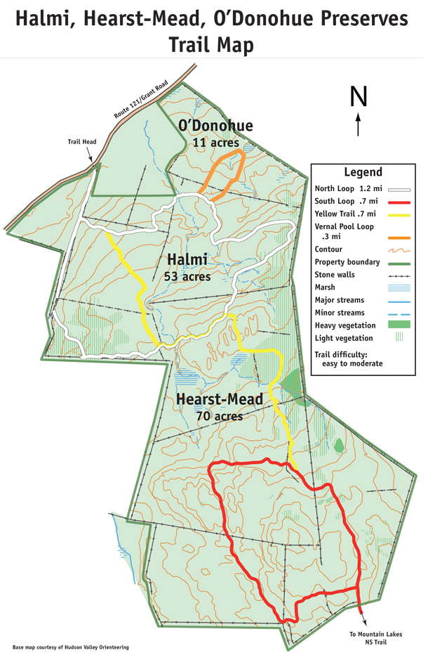 Halmi Hearst Mead ODonohue Trail Map 2016